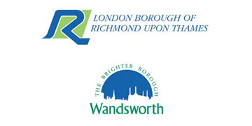 London Borough of Richmond and Wandsworth logo