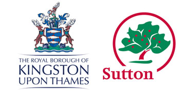 London Borough of Sutton and the Royal Borough of Kingston logo
